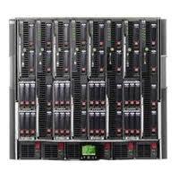 Шасси (корпус) HP BLc7000 с 2 однофазными блоками питания, 4 вентиляторами и ПО Insight Control Environment (соответствие директиве ROHS)