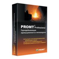 PROMT Professional 11 Многоязычный, Горнодобывающая промышленность и металлургия.