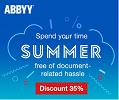 Летняя скидка -35% на ABBYY FineReader!